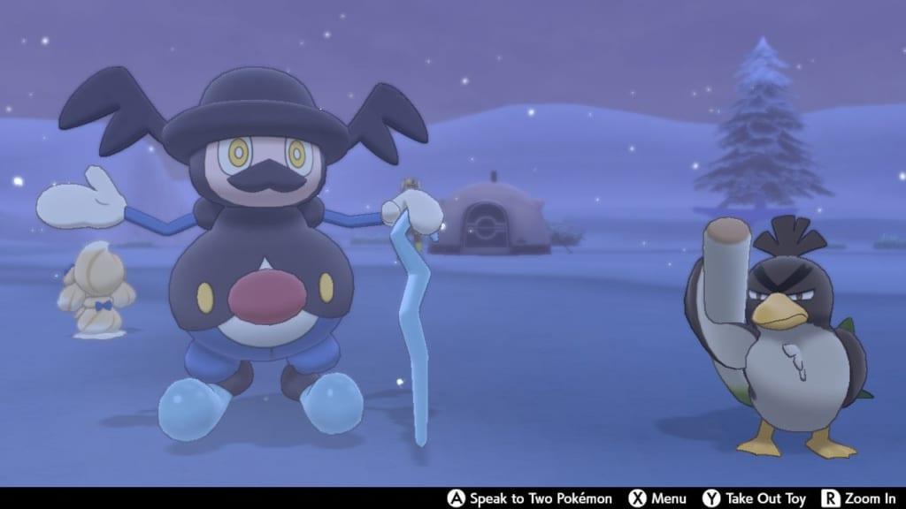 Pokemon Sword and Shield - Route 10 Pokemon Camp