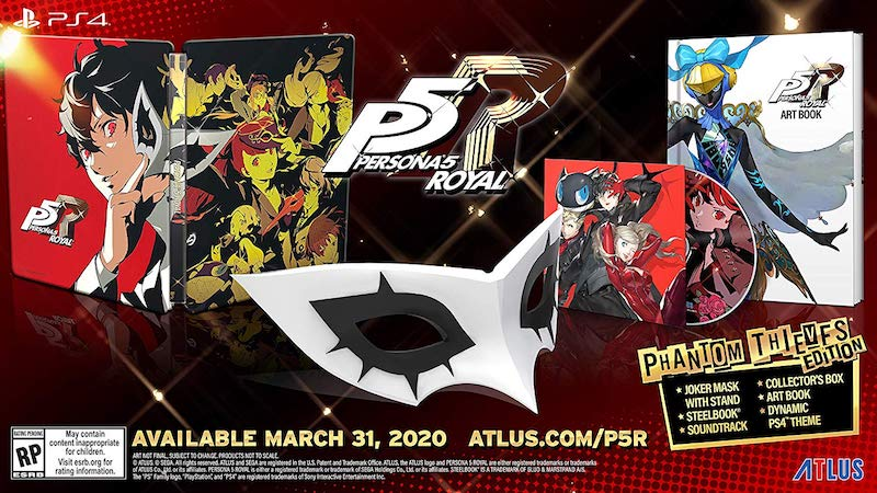 Persona 5 Royal - Western Release Phantom Thieves Edition