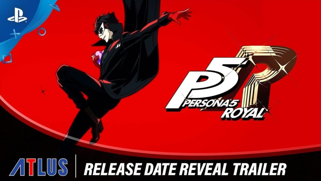 Persona 5 / Persona 5 Royal - Official Western Release Date Confirmed