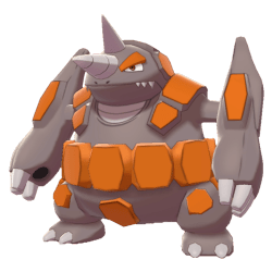 Pokemon Sword and Shield - Rhyperior