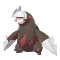 Pokemon Sword and Shield - Excadrill