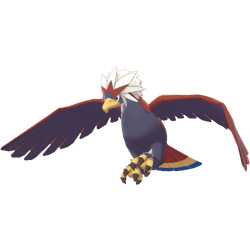 Pokemon Sword and Shield - Braviary