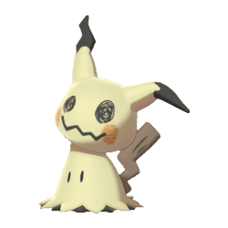 Pokemon Sword and Shield - Mimikyu