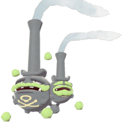 Pokemon Sword and Shield - Galarian Weezing