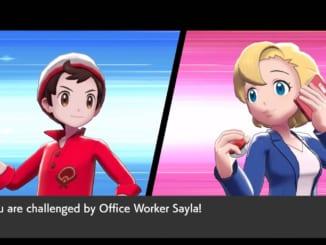 Pokemon Sword and Shield - Battle Tower Sayla