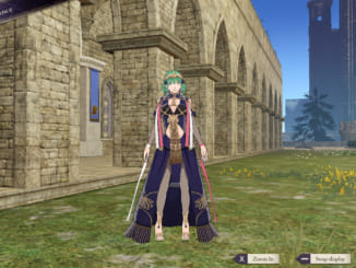 Fire Emblem: Three Houses - Sothis Regalia Costume Female Byleth