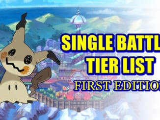 Pokemon Sword and Shield - Single Battles Tier List (Battle Stadium)