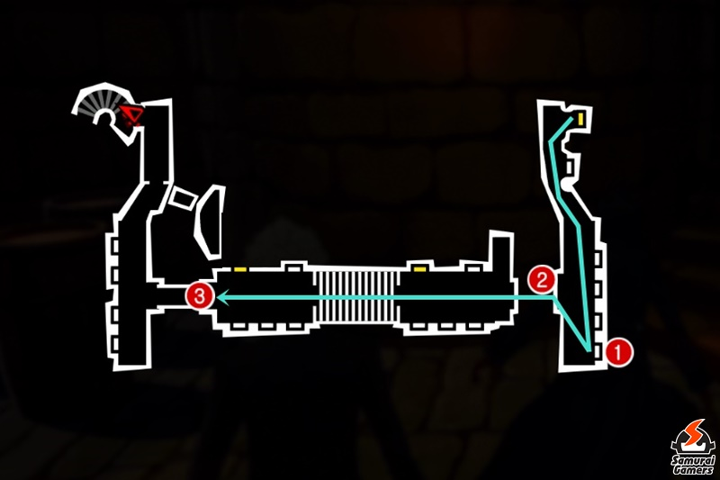 Persona 5 / Persona 5 Royal - Underground Prison First Floor Part 1