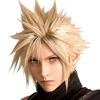 Final Fantasy VII Remake - Cloud Strife Icon