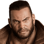 Final Fantasy VII Remake - Barret Wallace Icon