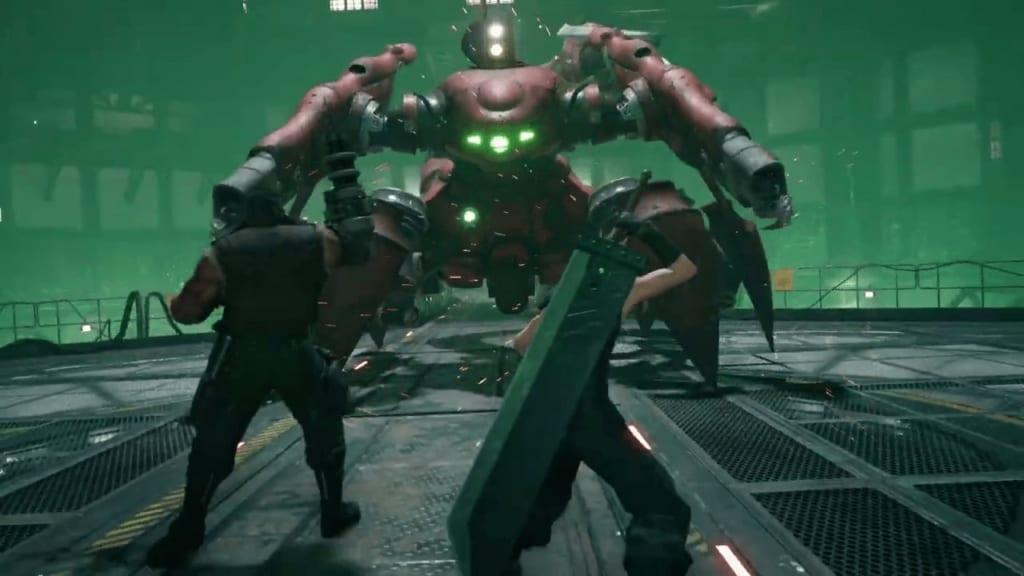 Final Fantasy 7 Remake - Scorpion Sentinel Boss Guide Strategy