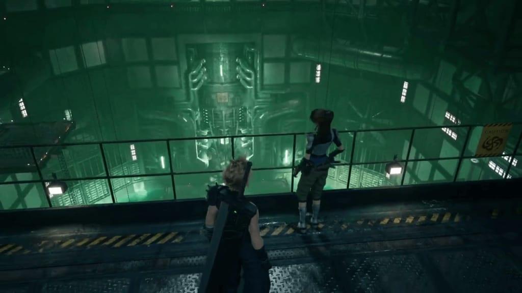 Final Fantasy 7 Remake - Demo Walkthrough - Mako Reactor 1 Core