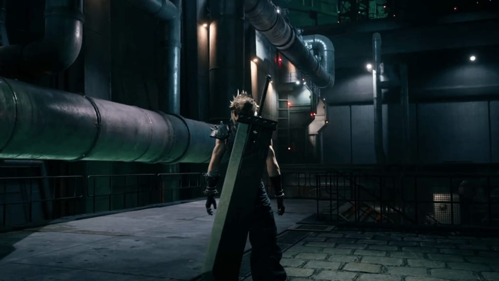 FF7 Remake - Mako Reactor 1 Grounds