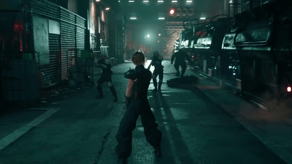 FF7 Remake - Sector 1 Train Station