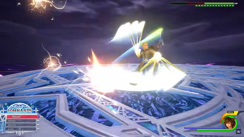 Kingdom Hearts 3 Remind - Larxene Limit Cut