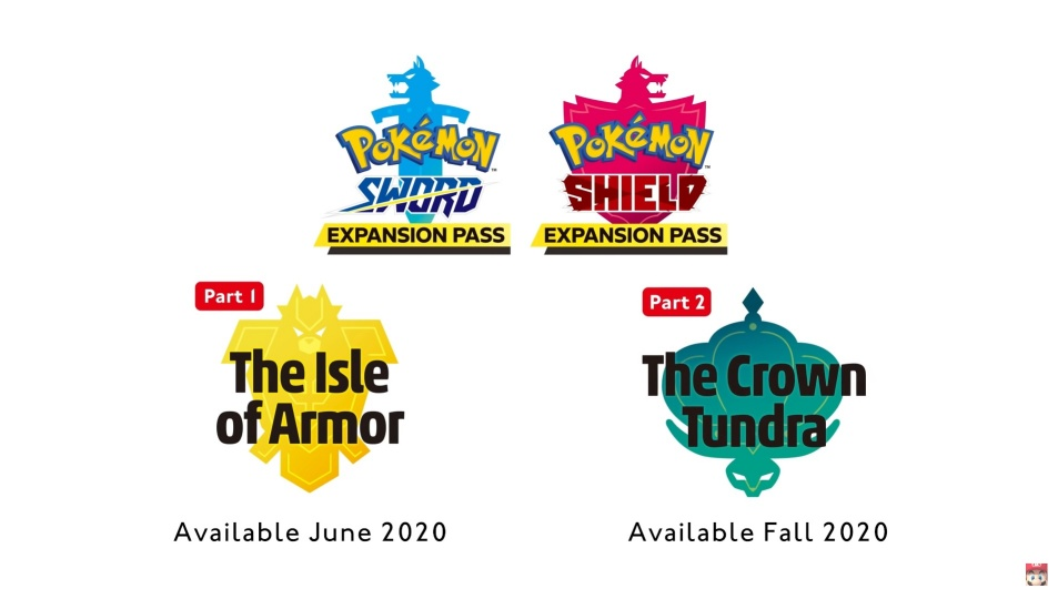 Pokemon Sword and Shield - New Legendary Pokemon in Upcoming Expansion