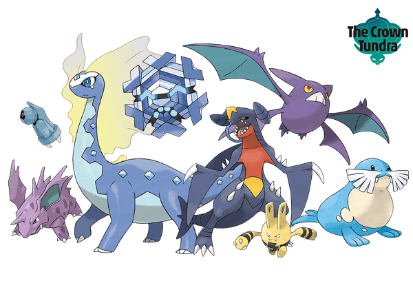 Pokemon Sword and Shield - Expansion Pass The Crown Tundra Returning Pokemon