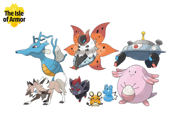 Pokemon Sword and Shield - Expansion Pass The Isle of Armor Returning Pokemon