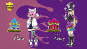 Pokemon Sword and Shield - New Characters in Upcoming DLC