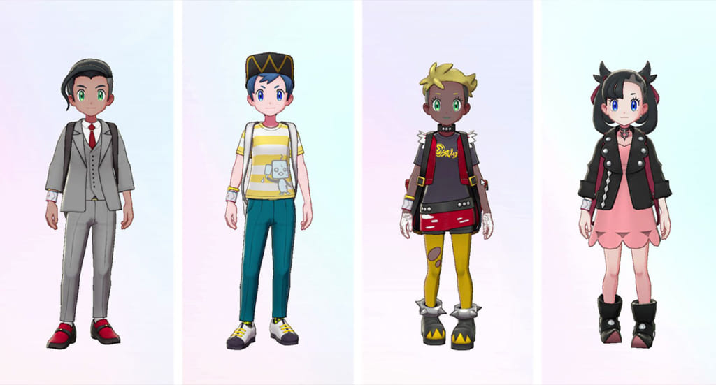 Pokemon Sword and Shield - Expansion Pass New Clothing