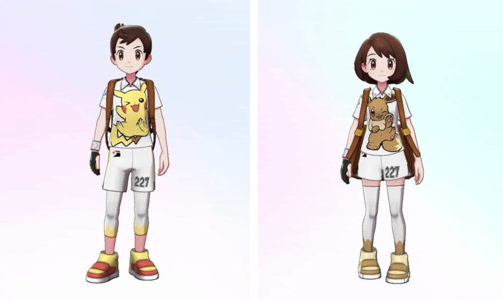 Pokemon Sword and Shield - Expansion Pass Special Purchase Bonus Clothing
