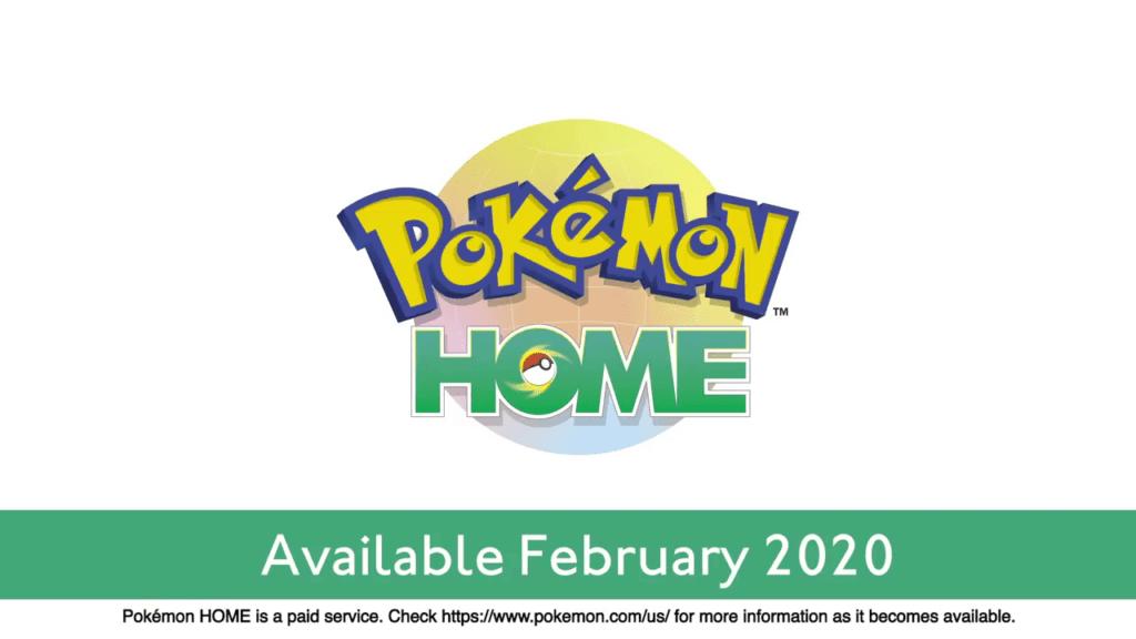 Pokemon Sword and Shield - Pokemon Home Release Date Announced