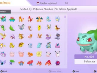 Pokemon HOME - National Dex