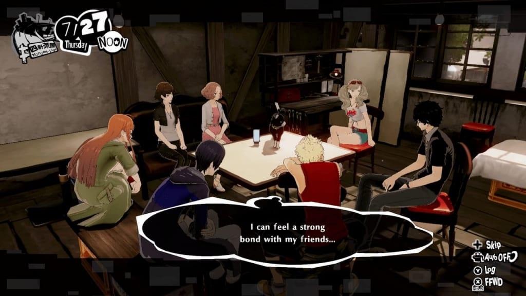 Persona 5 Strikers - Bond Skills Unlock