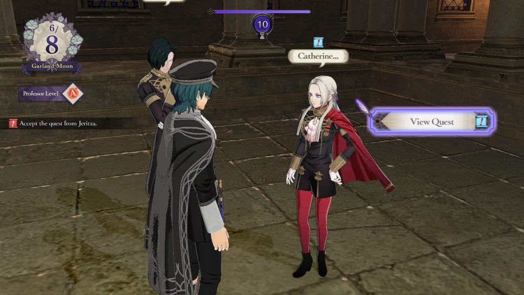 Fire Emblem Three Houses - Abyss Rumor Quest with Edelgard
