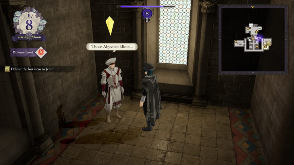 Fire Emblem Three Houses - Abyss Priest NPC