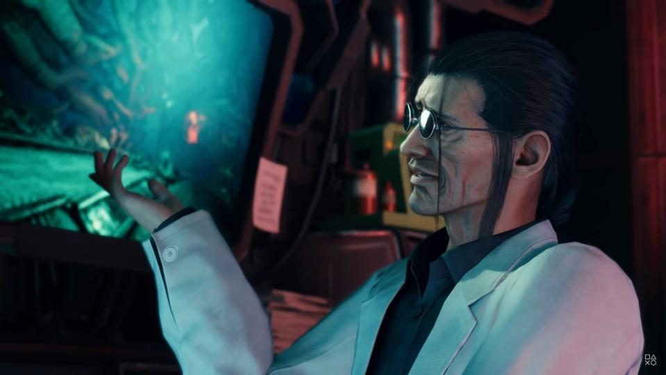 Final Fantasy 7 Remake - Hojo