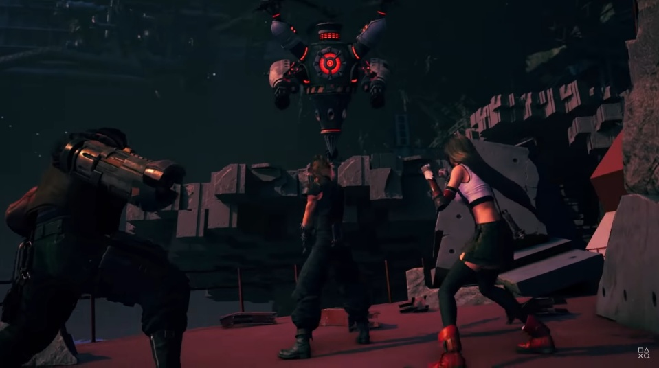 Final Fantasy 7 Remake - Heli Gunner