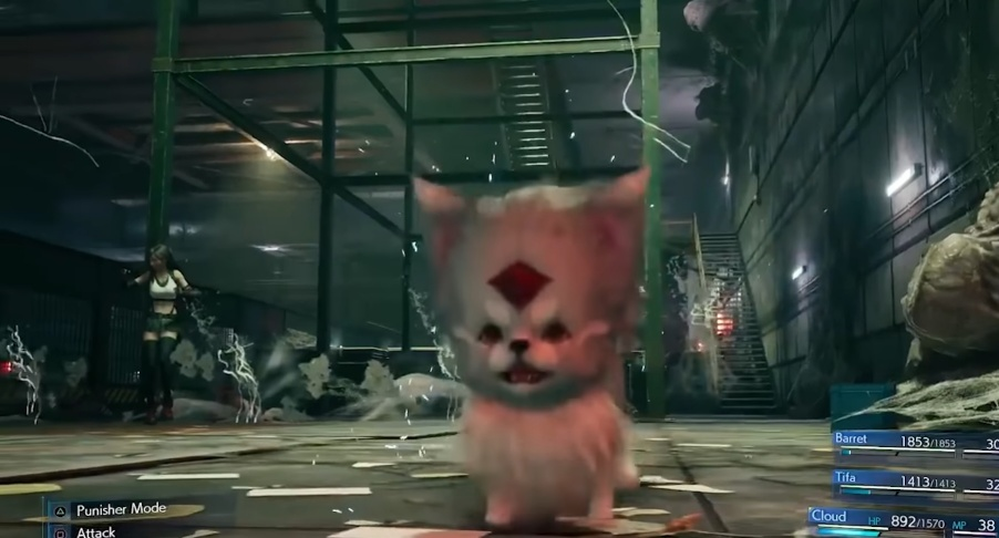 FF7 Remake - Carbuncle Summon Materia