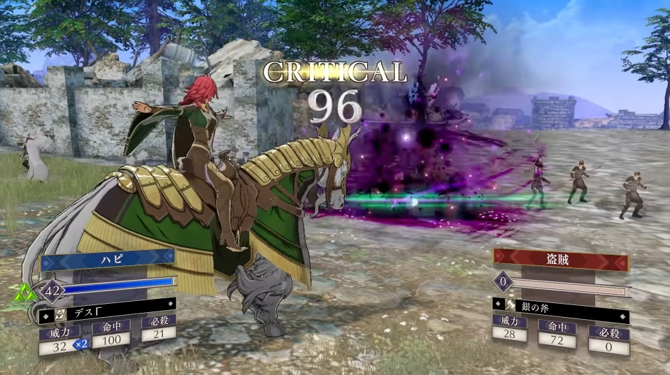 Fire Emblem Three Houses - New Classes in Cindered Shadows