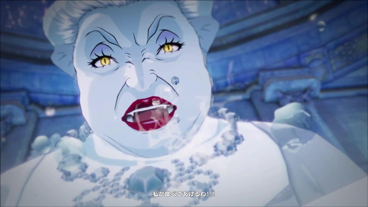 Persona 5 Strikers - Snow White Mariko Human Form