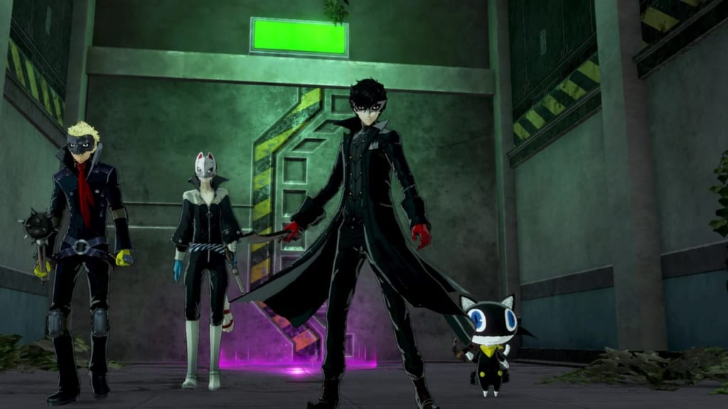 Persona 5 Strikers - Okinawa Jail First Infiltration August 17