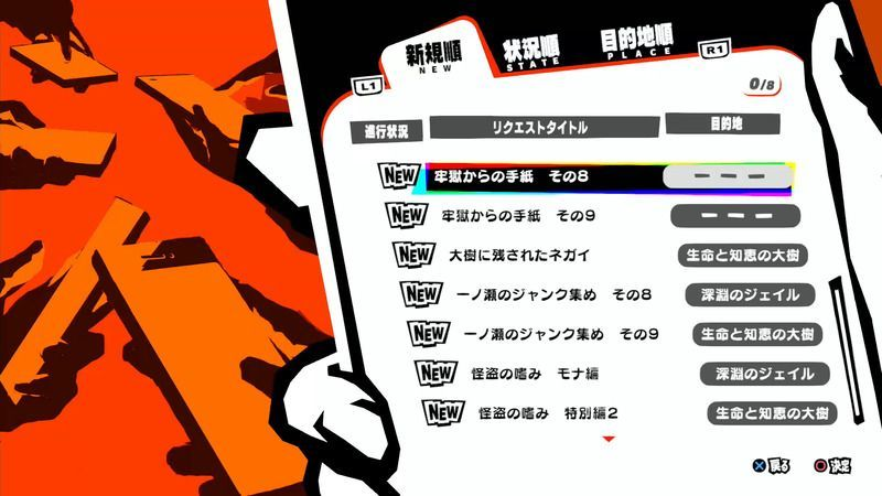 Persona 5 Strikers - Post-Game New Requests