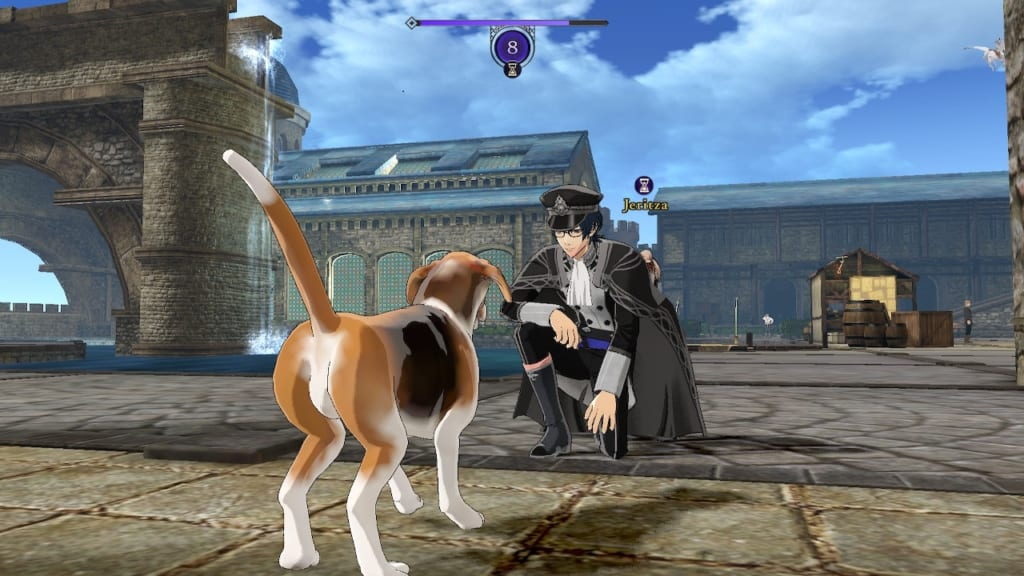 Fire Emblem: Three Houses - Dog Feeding