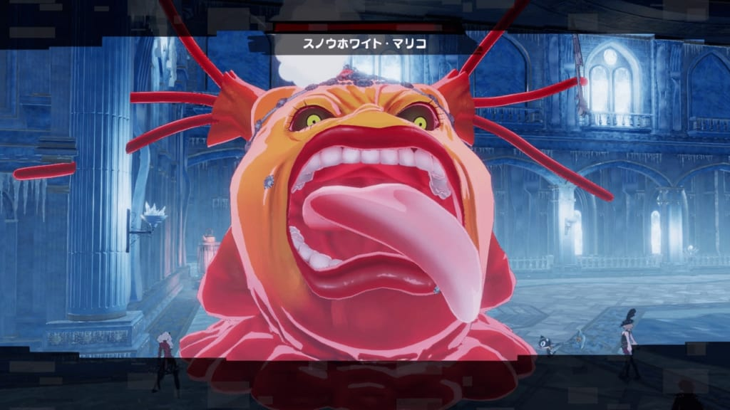 Persona 5 Strikers - Sapporo Jail Shadow Mariko Hyodo Snow Empress Mariko Jail King Monarch Rage