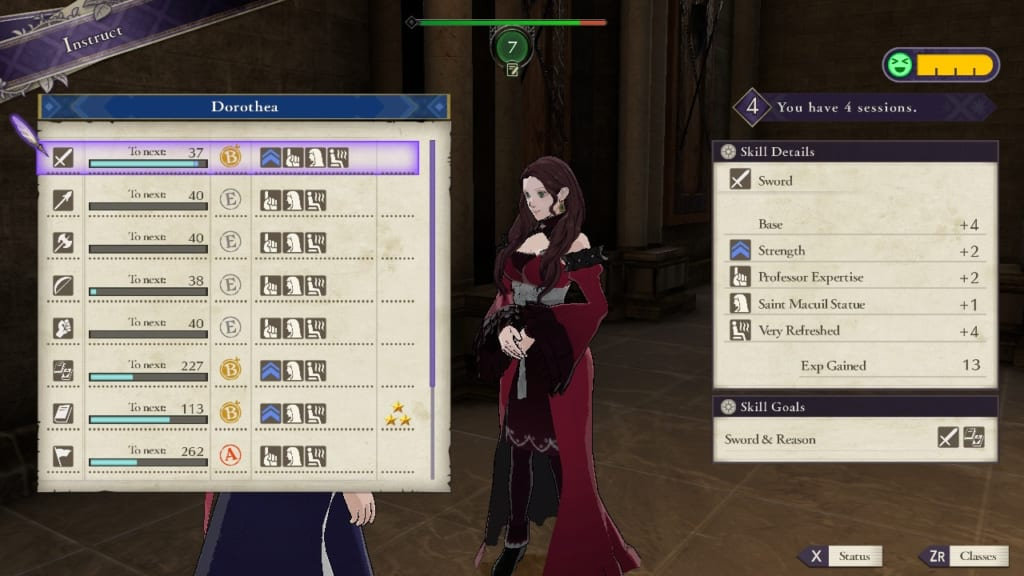 Fire Emblem: Three Houses - Sauna Guide