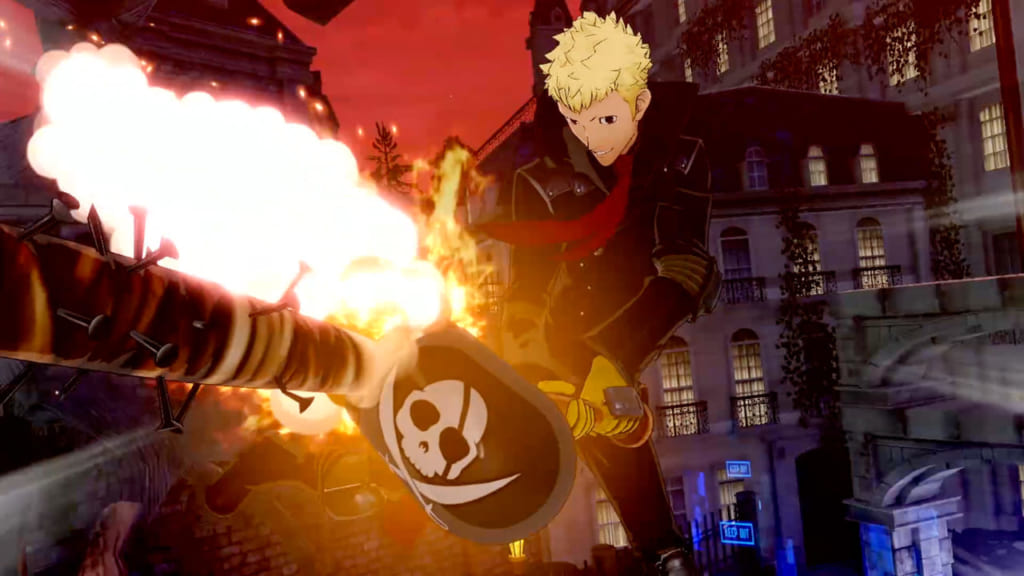Persona 5 Scramble - Skull and Captain Kidd Showtime