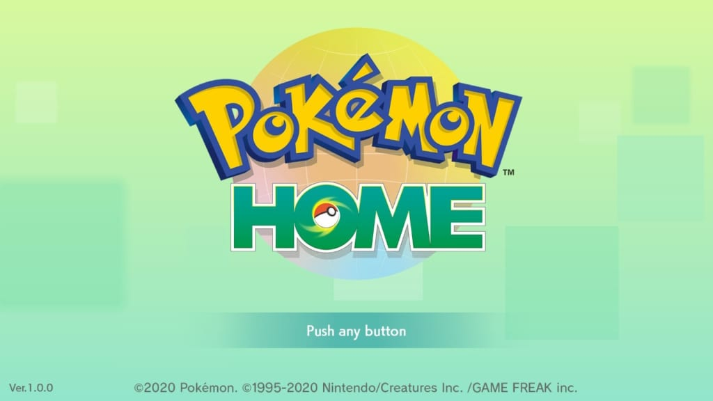 How to Set up Pokemon HOME
