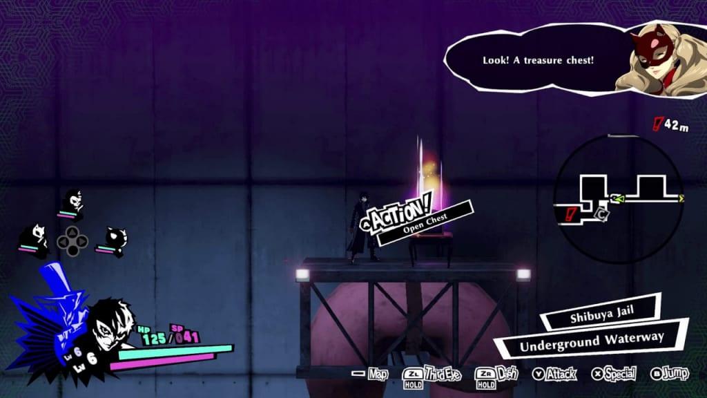 Persona 5 Strikers - Shibuya Jail Treasure Chest 9