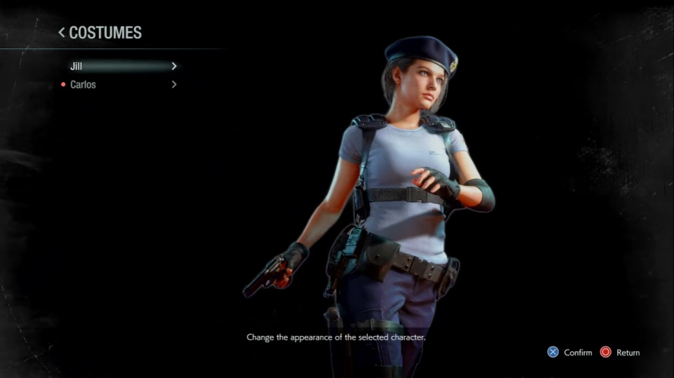 Resident Evil 3 Remake - Jill STARS Outfit