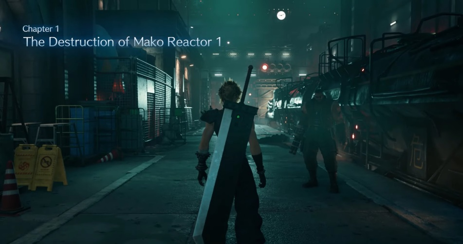 FF7 Remake - Chapter 1: The Destruction of Mako Reactor 1