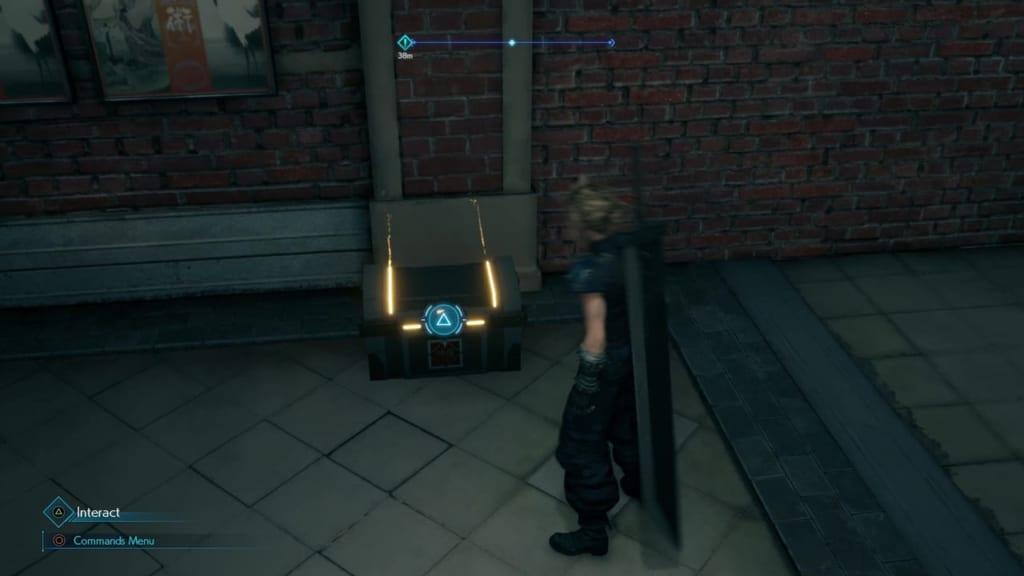 Final Fantasy 7 Remake Intergrade - Chest Location 1