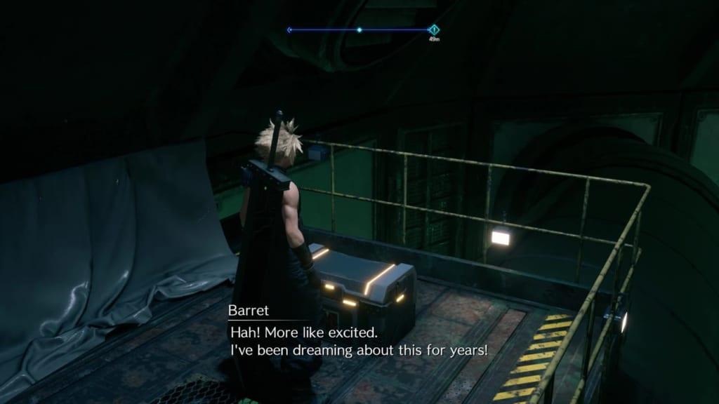 Final Fantasy 7 Remake Intergrade - Chest Location 8