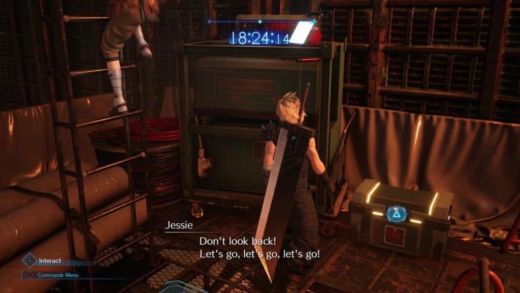 Final Fantasy 7 Remake Intergrade - Chest Location 10