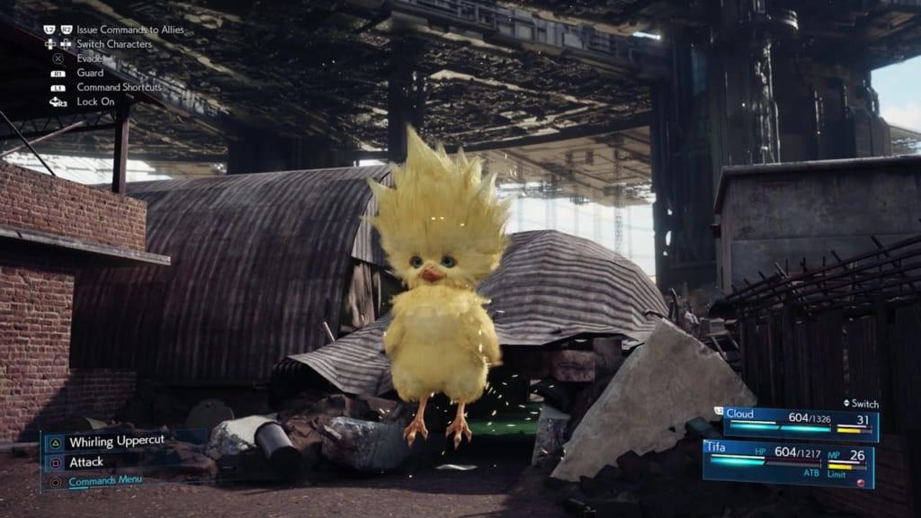 FF7 Remake - Rat Problem Side Quest - Chocobo Chick