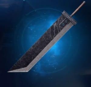 FF7 Remake - Buster Sword